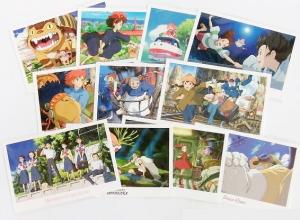 ジブリキャラクターポストカード