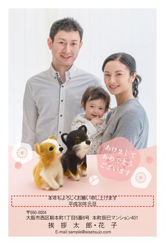 挨拶状ドットコム2018年(H30)年賀状印刷犬種別チワワ-3